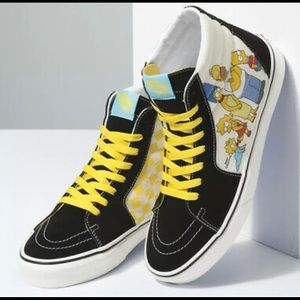 Vans Sk8-Hi x The Simpsons Family Portrait Size 10